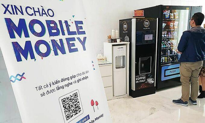 Một nhà mạng lấy ý kiến nội bộ về dự án Mobile Money đầu năm 2021. Ảnh: Mạnh Hưng.
